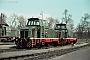 "MaK 600344 - DE ""D 8"" 08.03.1973 - Dortmund-Westerholz, Bahnbetriebswerk der Dortmunder EisenbahnJürgen Wensorra (Archiv ILA Barths)"