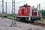 """MaK 600361 - DB """"360 914-6"""" 18.07.1992 - Hamm (Westfalen), BahnbetriebswerkH.-Uwe Schwanke"""