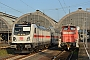 """MaK 600418 - DB Cargo """"363 103-3"""" 16.11.2019 - Karlsruhe, HauptbahnhofWerner Schwan"""