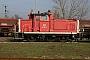 "MaK 600419 - Railion ""365 104-9"" 17.02.2004 - Mannheim, BetriebshofRalf Lauer"