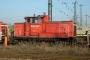"""MaK 600428 - Railion """"363 113-2"""" 04.01.2008 - Mainz-BischofsheimMarkus Hofmann"""