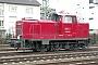 """MaK 600435 - EMN """"V 365 03"""" 28.01.2007 - Schwetzingen, BahnhofErnst Lauer"""