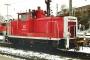 """MaK 600436 - DB AG """"363 121-5"""" 02.01.2002 - Gießen, HauptbahnhofSven Ackermann"""