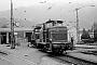 """MaK 600439 - DB """"261 124-2"""" 13.07.1972 - Garmisch-Partenkirchen, BahnbetriebswerkDr.Günther Barths"""