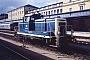 """MaK 600444 - DB """"365 129-6"""" 05.09.1993 - Regensburg, HauptbahnhofErnst Lauer"""