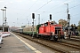 """MaK 600451 - DB Schenker """"363 136-3"""" 12.10.2013 - Stralsund, HauptbahnhofAndreas Görs"""