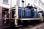 """MaK 600460 - DB """"261 145-7"""" 31.10.1987 - Mannheim, BahnbetriebswerkErnst Lauer"""