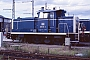 """MaK 600460 - DB """"365 145-2"""" 21.08.1988 - Mannheim, BahnbetriebswerkErnst Lauer"""
