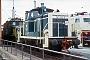 "MaK 600476 - DB ""261 240-6"" 22.06.1985 - Kaiserslautern, BahnbetriebswerkIngmar Weidig"