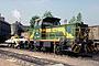 """MaK 700031 - DE """"733"""" 13.08.2003 - Bochum, ThyssenKrupp Stahl AGRainer Wittbecker"""