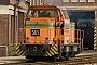 """MaK 700095 - RBH Logistics """"561"""" 17.07.2009 - Gladbeck-ZweckelPeter Luemmen"""