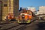 """MaK 700097 - RBH Logistics """"563"""" 27.11.2015 - Marl, Zechenbahnhof Auguste Victoria Schacht 7Malte Werning"""