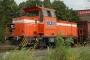 """MaK 700097 - RBH """"563"""" 19.09.2006 - Bottrop, HafenPhilipp Hachmann"""