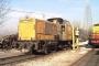 "MaK 800148 - SerFer ""K 107"" 23.12.2004 - San Zeno, Anschlussbahn DuferdofinLorenzo Pantani"