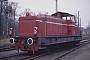 "MaK 800180 - BE ""D 22"" 21.01.1989 - Bad Bentheim