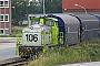 """MaK 800181 - HBB """"106"""" 07.07.2012 - BremenPatrick Paulsen"""