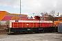 "MaK 800190 - CFL Cargo ""02"" 11.03.2011 - Kiel-GaardenBerthold Hertzfeldt"