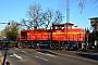 """SFT 1000906 - RheinCargo """"DH 107"""" 27.02.2019 - Neuss, Hammer LandstraßeFrank Glaubitz"""