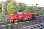 """Vossloh 1001024 - RAG """"828"""" 23.10.2003 - Moers-Rheinkamp, BahnhofRainer Splitt"""