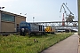"""Vossloh 1001035 - MEG """"303"""" 16.07.2003 - Rostock, SeehafenPeter Wegner"""