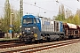 """Vossloh 1001037 - OHE-Sp """"280.1"""" 19.04.2005 - Leipzig-TheklaOliver Wadewitz"""