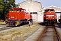"Vossloh 1001114 - HGK ""DH 44"" 24.06.2001 - Brühl-Vochem, Betriebshof HGKMichael Vogel"