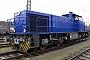 """Vossloh 1001125 - Railflex """"Lok 4"""" 25.01.2018 - Oberhausen-Osterfeld, BahnbetriebswerkJörg  Baumann"""
