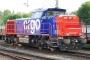 """Vossloh 1001395 - SBB Cargo """"Am 843 055-5"""" 07.06.2004 - Celle-Nord, OHEKlaus Steiner-Ruschinzik"""