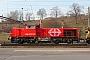 """Vossloh 1001402 - SBB """"Am 843 007-6"""" 20.02.2009 - ChiassoDaniele Monza"""