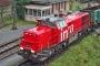 """Vossloh 1001404 - SBB """"Am 843 009-2"""" 09.12.2006 - Muttenz, RangierbahnhofTheo Stolz"""