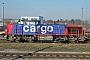 """Vossloh 1001418 - SBB Cargo """"Am 843 070-4"""" 27.11.2008 - Basel-WolfTheo Stolz"""