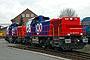 "Vossloh 1001423 - SBB ""Am 843 075-3"" 13.01.2005 - Moers, Vossloh Locomotives GmbH, Service-ZentrumRolf Alberts"