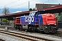 """Vossloh 1001427 - SBB Cargo """"Am 843 087-8"""" 07.11.2017 - BrunnenHarald S"""