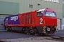 """Vossloh 1001453 - SBB Cargo """"Am 840 001-2"""" 26.10.2003 - Kiel-Friedrichsort, Vossloh Locomotives GmbHChristoph Müller"""