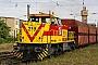 "Vossloh 5001474 - MEG ""219"" 21.08.2008 - Merseburg, BahnhofBerthold Hertzfeldt"