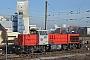 """Vossloh 5001480 - VFLI """"BB 61021"""" 29.01.2014 - Strasbourg, Port du RhinHarald S."""