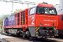"""Vossloh 5001481 - SBB Cargo """"Am 840 002-0"""" 06.10.2005 - ChiassoAlexander Leroy"""