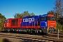"""Vossloh 5001482 - SBB Cargo """"Am 840 003-8"""" 25.10.2010 - NeuwittenbekBerthold Hertzfeldt"""