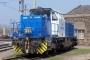 """Vossloh 5001483 - CFL """"1101"""" 22.04.2006 - Luxembourg, BahnbetriebswerkTobias Trappen"""