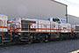 """Vossloh 5001493 - Sersa """"Am 843 152"""" 02.10.2004 - Gampelsteg, L�tschbergbasistunnelbaustelleMatthias Müller"""