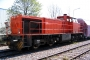 "Vossloh 5001499 - Railion ""266 832-5"" 14.04.2007 - Menden-Horlecke, Übergabebahnhof RheinkalkPeter Gerber"