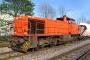 "Vossloh 5001499 - Railion ""266 832-5"" 16.04.2007 - Menden-Horlecke, Übergabebahnhof RheinkalkPeter Gerber"