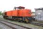 "Vossloh 5001499 - Railion ""266 832-5"" 25.04.2007 - Menden-Horlecke, Übergabebahnhof RheinkalkPeter Gerber"