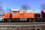 "Vossloh 5001499 - Railion ""266 832-5"" 09.02.2008 - Menden-Horlecke, Übergabebahnhof RheinkalkPeter Gerber"
