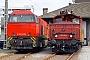 """Vossloh 5001521 - SBB Cargo """"Am 840 902-1"""" 06.10.2005 - Chiasso, ServicestelleAlexander Leroy"""
