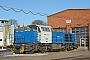 """Vossloh 5001529 - CFL Cargo """"1103"""" 04.02.2012 - Niebüll, NEGTomke Scheel"""