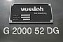 """Vossloh 5001600 - Salcef """"G 2000 52 DG"""" 10.06.2011 - FanoFrank Glaubitz"""
