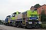 """Vossloh 5001646 - BLS """"Am 843 502-6"""" 19.08.2006 - Kiel-PriesTomke Scheel"""