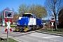 """Vossloh 5001692 - B&V """"500 1692"""" 14.04.2011 - Kiel-FriedrichsortStefan Motz"""