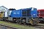 """Vossloh 5001692 - B & V Leipzig """"500 1692"""" 20.02.2014 - Moers, Vossloh Locomotives GmbH, Service-ZentrumJörg van Essen"""